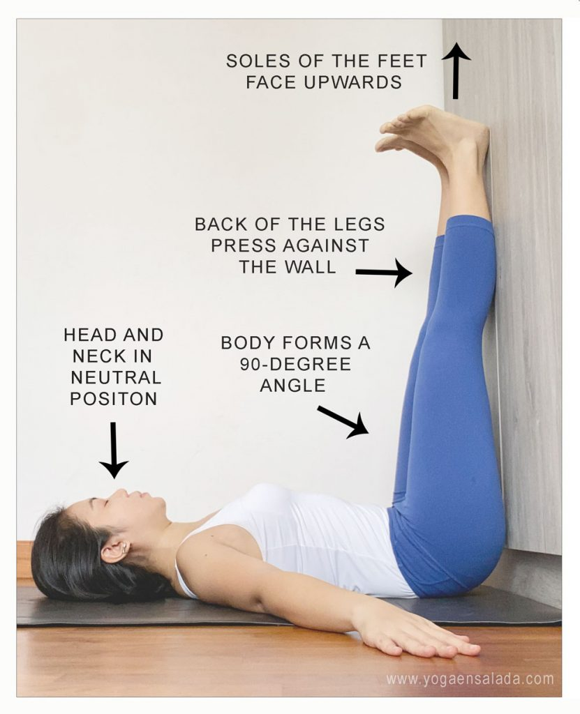 Legs Up The Wall Pose Benefits